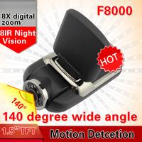 2013 Newest F8000 Ambarella Car DVR  FULL HD 1920*1080P  Night vision H.264 Car Camera Video Camcorder Car black box