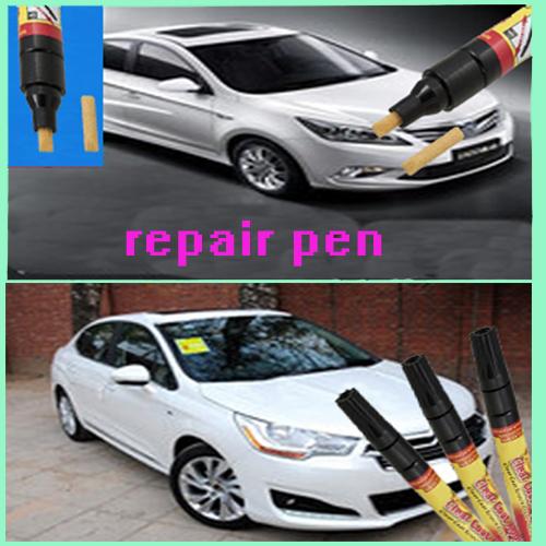 2pcs New Portable Fix It Pro Clear Repair Remover Pen Car Scratch(China (Mainland))