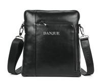 Top quality bag men Messenger Bags of Genuine Leather bag 2013 fashion style Danjue brand M90026-4