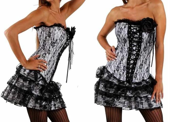 ... ビスチェ・corset+g文字列2- 枚のランジェリー
