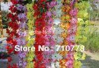 7C available 30PCS 2,2 M Artificial silk flower vine ericaceae azalea home decoration garland decoration flower