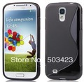 S Line soft TPU Gel Skin Case for samsung galaxy S IV s4 i9500 free shipping