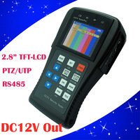 "2.5"" TFT LCD Video Monitor CCTV Security Camera Tester Resolution 960 * 240+12V Output"