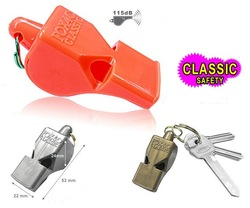 new blank fox 40 football soccer whistle lifesaving whistle emergency whistle(China (Mainland))