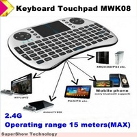 2.4G Airmouse keyboard touchpad MWK08 good quality touchpad keyboard mouse