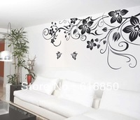 Chinese Traditional patten wall decoration 3D removable wall sticker