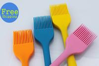 Free shipping silicone basting brush pastry brush bbq brush oil brush