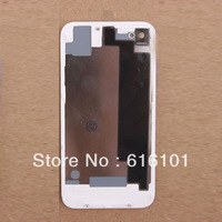 high quality OEM Battery Cover Back Door Rear Glass Black OEM for iPhone 4S White 1pc/lot Free Shipping