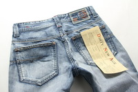 FreeHotNew Arrival Newly Style famous brand fashion casual style cotton denim jeans men large size 40 warm