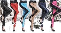 Hot!! Free shipping 2013 new autumn winter thick plus XXL XXXL high elastic leggings women's fashion big size trousers 9 styles