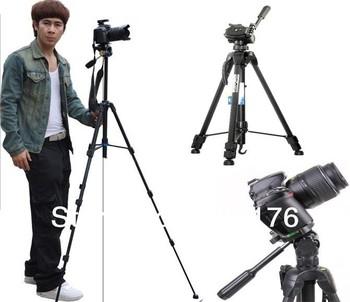 153CM Extend Professional 3D Digital Camera Tripod Video Record Machine Cradle Head Stands Holder Flexible Photography Tripus