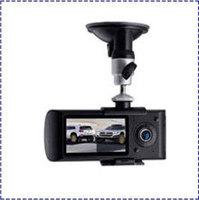 100% Original &Free Shipping X3000 With GPS Logger + Dual Lens camera +140 degree +3D Accelerating +G-Sensor Car Video Recorder