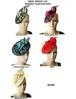 2013 New Arrival unique design sinamay saucer fascinator covered lace hair accessory for Kentucky derby .5 colors