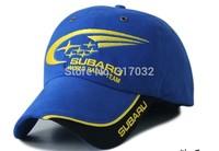 F1 racing signature commemorative caps  car team racer caps subaru  logo baseball hat  Free Shipping