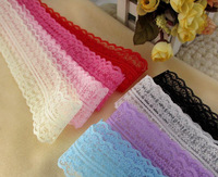 Free shipping 300yards/lot,8colors available Polyester Lace Embroidery Lace Water Soluble Lace Cotton Lace trim in stock