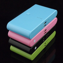 2 Usb Port 20000mAh Power Bank portable charger External Battery for iphone 5 ipad, samsung galaxy S3(China (Mainland))