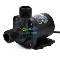 Free Shipping DC 12V Electric Centrifugal Water Pump Black High Quality B2 TK0410