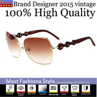 100% High Quality Fatigue Resistance UV400 True Visual Color oculos Star Style Vintage Butterfly Sunglasses Women Brand Designer