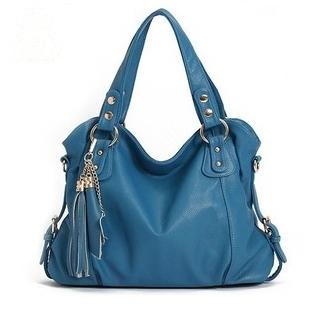 Brand 2014 fashion pu leather women handbags high quality Faux Leather Tassels designers shoulder bags women messenger bag YFQ04