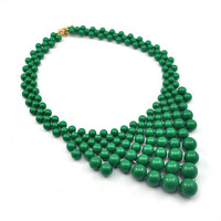 Mix$10 Free Shipping Hotsale big resin bubble beads Bib&Choker&Statement Necklaces ethnic jewelry 2013 fashion For Women ZCX046