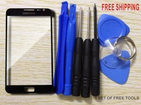 Free shipping Original LCD Touch Screen Lens Top Replacement Glass for Samsung Galaxy Note N7000 i9220 9220 7000 9220 7000+tools