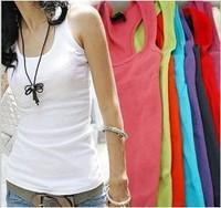 Free Shipping Summer Women's  Long Design Fashion T-shirt Women Vest  Tops & Camis Season Clearance A087