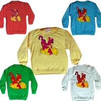 Retail 2015 New Hot boys T-shirt kids cartoon T-shirt children clothing long-sleeved cotton Free shipping