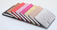 Stainless steel dull polish card case high-capacity card holder men's high-grade business card bag women creative card holder