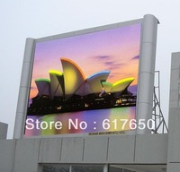 0.96m x 0.96m  Wholesale Full Color with Common Cabinet P10 Outdoor LED Display Screen