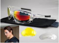 Jawbone lens Racing  Cycling  Bike Outdoor Sports Eyewear Tom Cruise Goggle Sunglasses 3 color lens