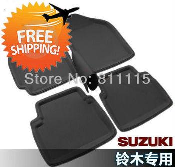 Free shipping car foot mat for SUZUKI Sx4 step mat Three Color Car Floor Mat, Carpet Rugs, Pedal Pads 3 Color Car Floor Mat