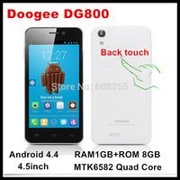 freeshipping Original DOOGEE VALENCIA DG800 3G phones MTK6582 quad core 1.3GHZ android 4.4 mobile phone RAM 1GB ROM 8GB phones