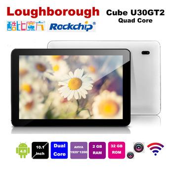 Cube U30GT2 U30GT 2 RK3188 Quad Core 1.8GHz 10.1inch FHD IPS Retina Screen 2GB RAM 32GB ROM HDMI Bluetooth Camera 5.0MP
