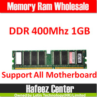 Promotion+Free shipping Memory Ram DDR 400Mhz 1GB PC 3200 +memoria ram for desktop computer Compatible with all motherboard