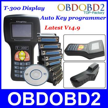 2015 Newly Promotion V14.9 T300 Key Programmer Auto Transponder Key T 300 Programmer Read IMMO/ECU ID T300 Key English &Spanish