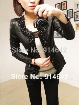 Горячая продажа! бесплатная доставка! 2013Женщины в Корее Мода Кожа PU является высокотехнологичным ...