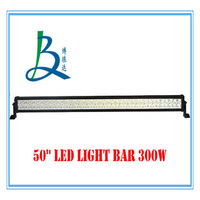 new wholesale super brightness 50'' led light bar 300w for truck jeep SUV ATV UTV