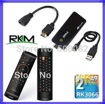 MK802 IIIS Rikomagic Bluetooth Android 4.2.2 TV BOX MK802IIIS 8G Mini PC Android tv box DUAL CORE 1080P+Fly air mouse F10