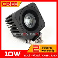 2.5inch 10W LED Work Light 12v 24v Tractor Motorcycle ATV IP67 Spot / Flood Offroad Fog light LED Worklight Save on 12w 18w 27w
