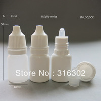 Free shipping - 100pcs /lot 5ml plastic Dropper bottles NEW LDPE Dispense Store Most Liquids eye drops