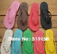 2013Hot!! Free shipping Summer flip flops flip female sandals lovers sandals fashion sandals flat slippers women's slippers