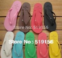 2014 Hot!! Free shipping Summer flip flops flip female sandals lovers sandals fashion sandals flat slippers women's slippers