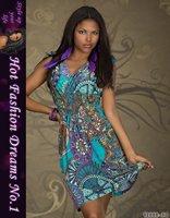 new fashion women floral classic casual vintage dress tall waist dress party clubwear dress free shipping X4152