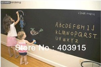 Free shipping Blackboard Home Sticker, Removable Wall Decal, Chalkboard Stickers, 45CM*200CM