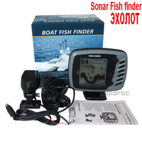 FD89 16-levels Fishing Finders Sonar Depth Sounder Grayscale Dual Beam Sonar Boat Fish Finder Fishfinder 600 ft Fishing Sounder