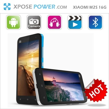 DHL/EMSKLEX Freeshipping (Stocked!) XIAOMI M2S Quad-core Snapdragon 600 1.7Ghz 2G RAM+16GROM miuiv5 4.3''IPS screen 8MP