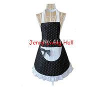 Stock Lady Princess Style Polka Dot Apron 5pcs/lot
