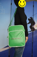 Free shipping! 2013 newest pu messenger bag sling bag, green shoulder bags cross body bags brand items Epo-S01