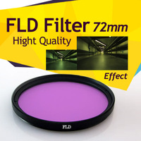 72mm Fluorescent Lens Filter Daylight FLD Correction for Canon Nikon Tamron Sony Free Shipping