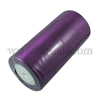 Satin Ribbon,  Purple,  50mm wide,  25yards/roll,  100yards/group,  4rolls/group